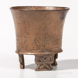 Mayan Glazed Vessel