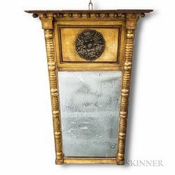 Classical Gilt Tabernacle Mirror
