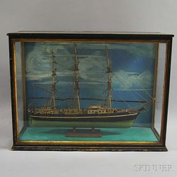 Cased Ship's Model of the Sovereign of the Seas