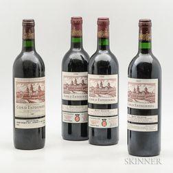 Chateau Cos dEstournel, 4 bottles