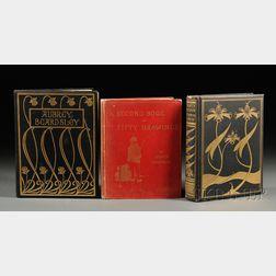 Beardsley, Aubrey (1872-1898) Three Volumes: