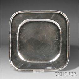 Henry Petzal Silversmith (1906-2002) Plate