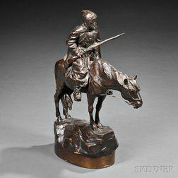 After Albert Moritz Wolff (German/Russian, 1854-1923)      Cossack