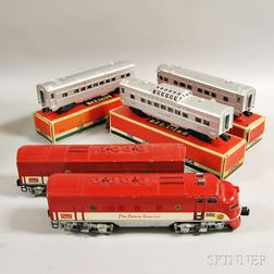 Lionel Train Texas Special Passenger Set #1520W