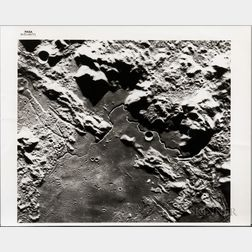 Apollo 15, Lunar Surface, Two Photographs, July-August 1971.