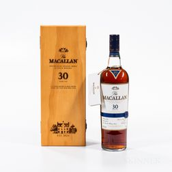 Macallan 30 Years Old, 1 750ml bottle (owc)
