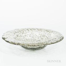 Modern Art Glass Bowl