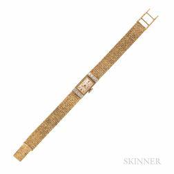 Tiffany & Co. 14kt Gold and Diamond Wristwatch
