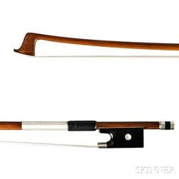 Nickel-mounted Violin Bow, Emile Francois Ouchard, c. 1930