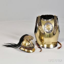 French Chasseur Chest Armor and Helmet