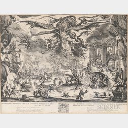 Jacques Callot (French, 1592-1635)      The Temptation of St. Anthony