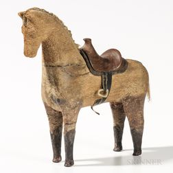 Carved Figure of a Horse