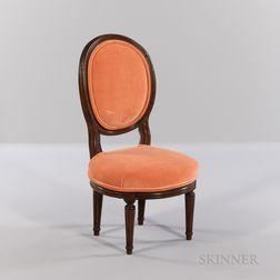 Diminutive Louis XVI-style Side Chair