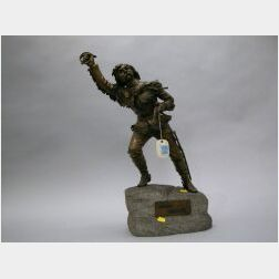 Carl Kauba (1865-1922), Bronze Figure of General George Custer