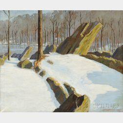 Christian Lawton Dull (American, 1902-1982)      Desolate