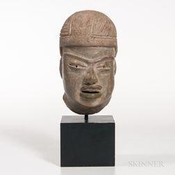 Olmec Terra-cotta Head