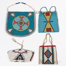 Four Plains and Plateau Beaded Bags