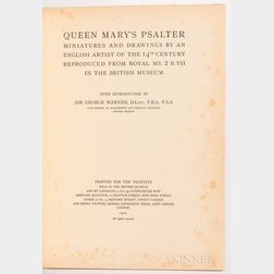 Queen Marys Psalter Miniatures and Drawings by an English Artist of the 14th Century Reproduced from Royal MS. 2 B. VII in the British