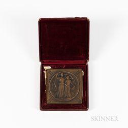 1904 Louisiana Purchase Exposition Bronze Silver Medal