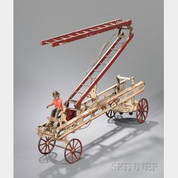 Mechanical Ladder Fire Truck Toy