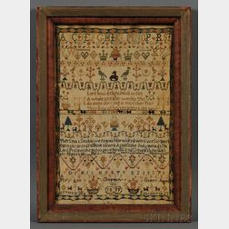 Needlework Band Sampler