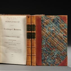 Montagu, George (1753-1815) Ornithological Dictionary   [and] Inscribed Author's Presentation Copy   of the Supplement