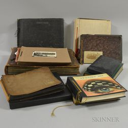 American School, 20th Century      Twelve Travel and Other Photograph Albums