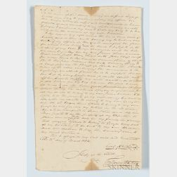 Will of George McNutt (1751-1823) Document