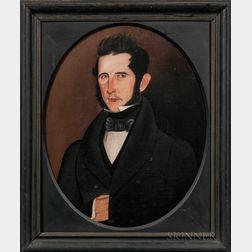 Sheldon Peck (Illinois/Vermont, 1797-1868)      Portrait of a Gentleman