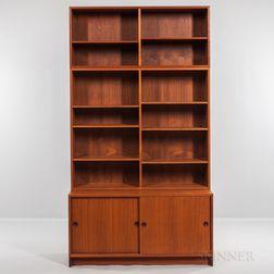 Borge Mogensen for Karl Andersson & Soner Øresund Cabinet and Two Stackable Bookcases
