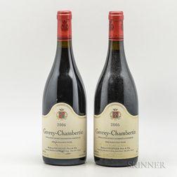 Robert Groffier Gevrey Chambertin, 2 bottles