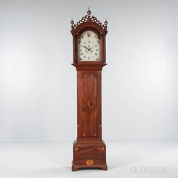 New Hampshire Inlaid Cherry Tall Clock