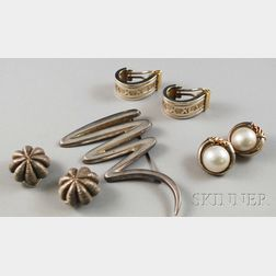 Small Group of Tiffany & Co. Sterling Silver Jewelry