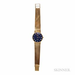 18kt Gold Wristwatch, Bueche Girod, Retailed by Cartier