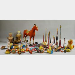 Group of 19th and 20th Century Children's Toys