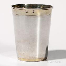 Austro-Hungarian Silver Beaker