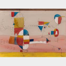 Richard Platt (British, 1928-2017)      American Machine