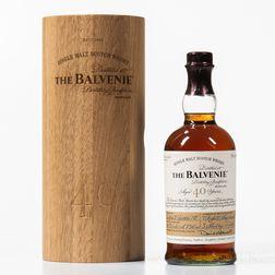 Balvenie 40 Years Old, 1 750ml bottle (owc)