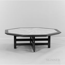 Harvey Probber (1922-2003) Octagonal Coffee Table