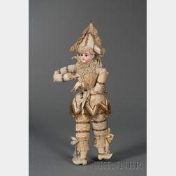 Polichinelle Marionette Doll