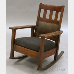 Arts & Crafts Rocking Chair