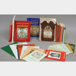Eight Books on English Regional Clockmaking