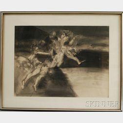 Steven Trefonides (American, b. 1926)      Kali #1/#3