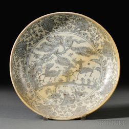 Export Blue and White Dish for the Philippine Market