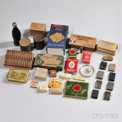 Group of WWII Rations and Smoking Material