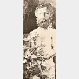 After Pablo Picasso (Spanish, 1881-1973)      L'homme au mouton