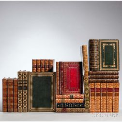 Decorative Bindings, Sets, Twenty-seven Volumes.