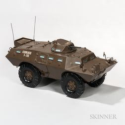 Cadillac Gage Commando V-100 Armored Vehicle Model