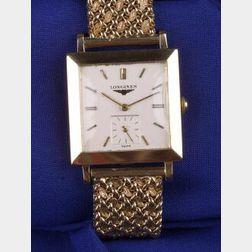 Gentleman's 14kt Gold Wristwatch
