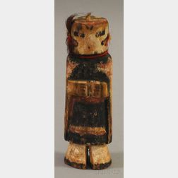 South West Painted Kachina Doll